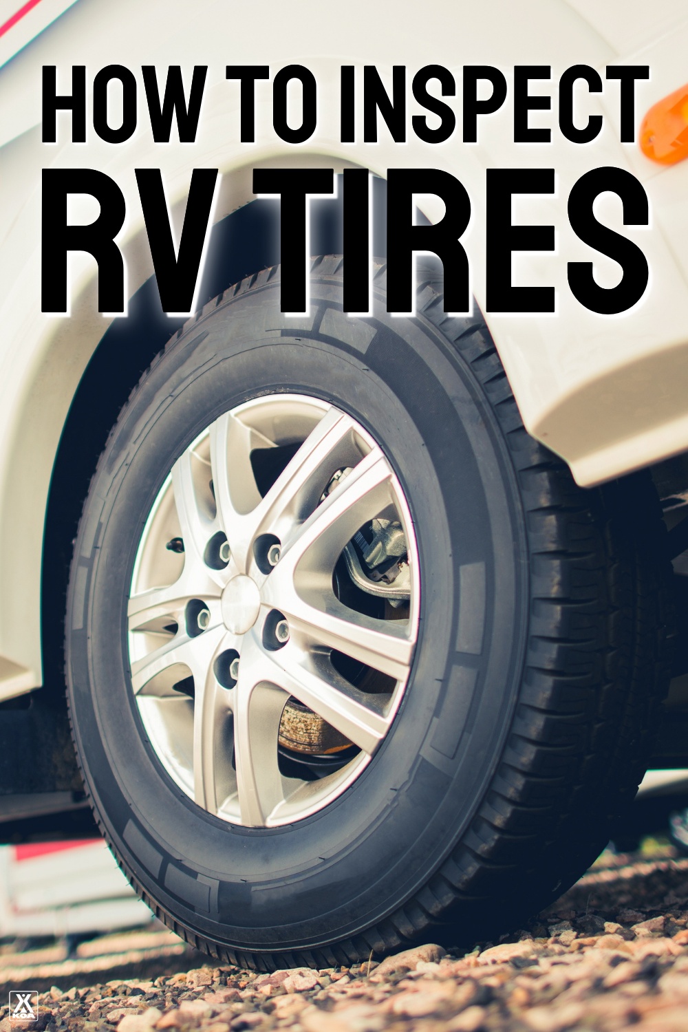 Learning how to properly inspect your RV tires can keep you safe and save you from costly repairs. Learn how to inspect and age your tires with this video from our RV expert.