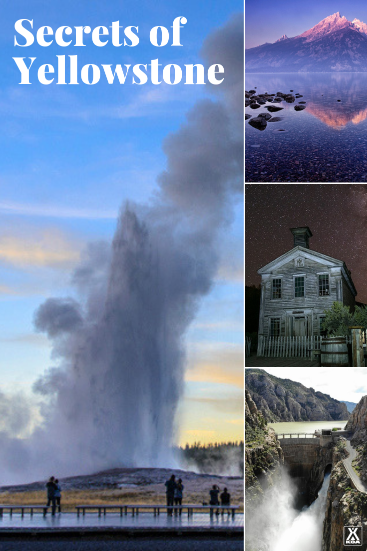 You're heard of Yellowstone, but have you seen these sites? Visit 18 lesser-known Yesllowstone sites in and around the park. #FindYourPark #Yellowstone
