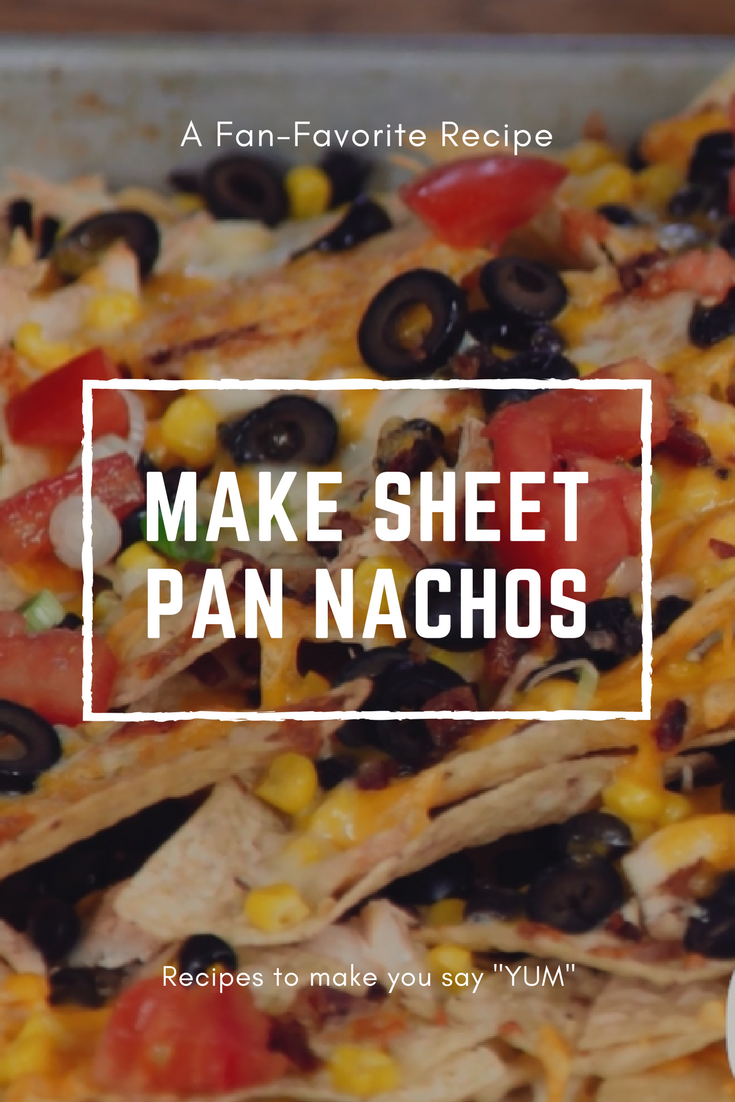 Watch our video to make perfect nachos!