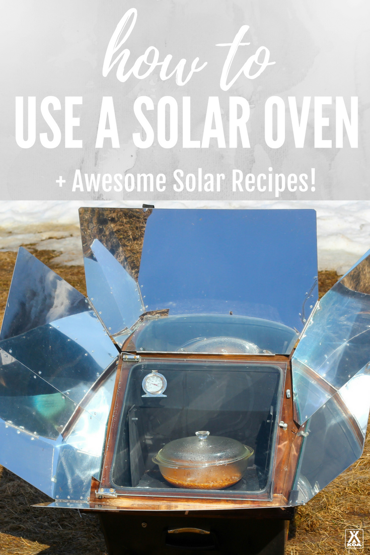 Learn to use a solar oven