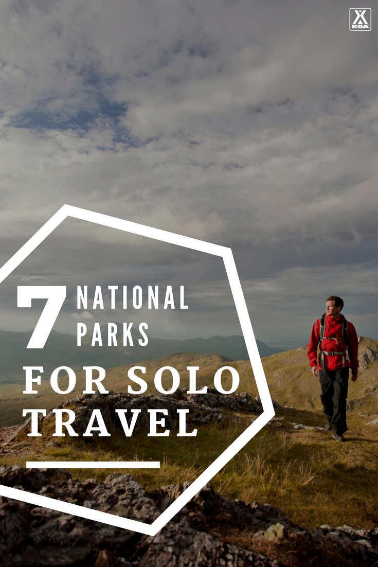 Traveling solo? Go to these national parks.