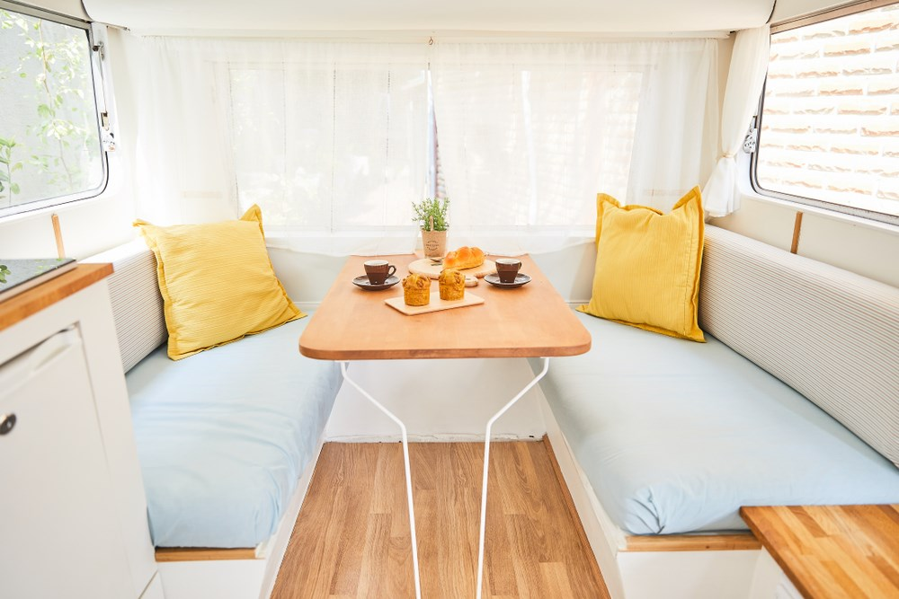 A Few Clever Decorating Tips Can Add Much Needed Visual E To The Interior Of Your Rv Use These Eight And Tricks Create In