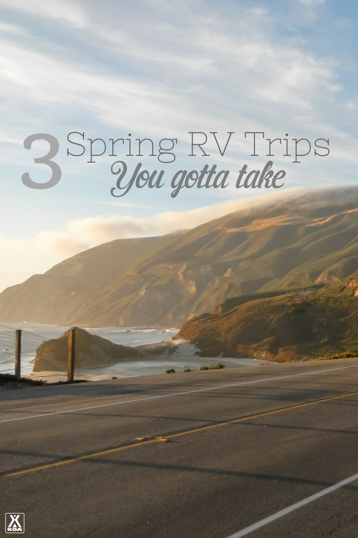 Add these spring RV trips to your calendar