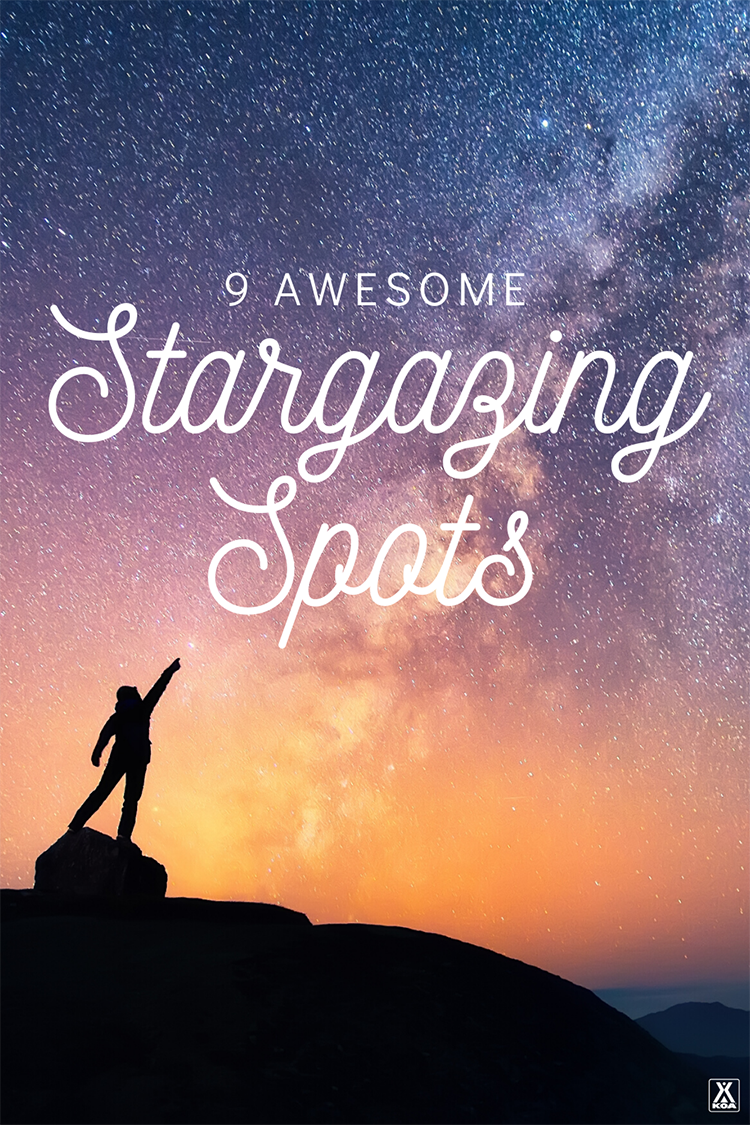 Here are nine of the best sites in America to relish a deep, black, starry skies. You'll definitely want to camp at these spots!