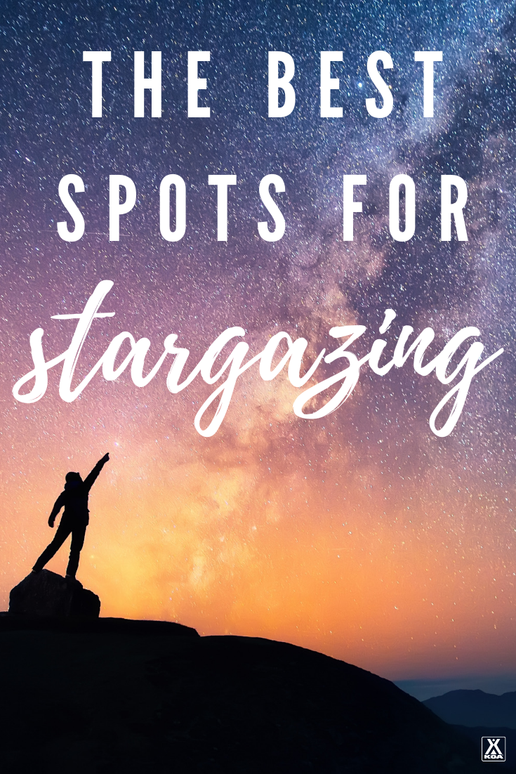 There are few things more awe inspiring than a dramatic night sky covered in stars. If you're looking to stargaze you'll want to hit these stunning destinations. These are the best spots in America to look up and stargaze.