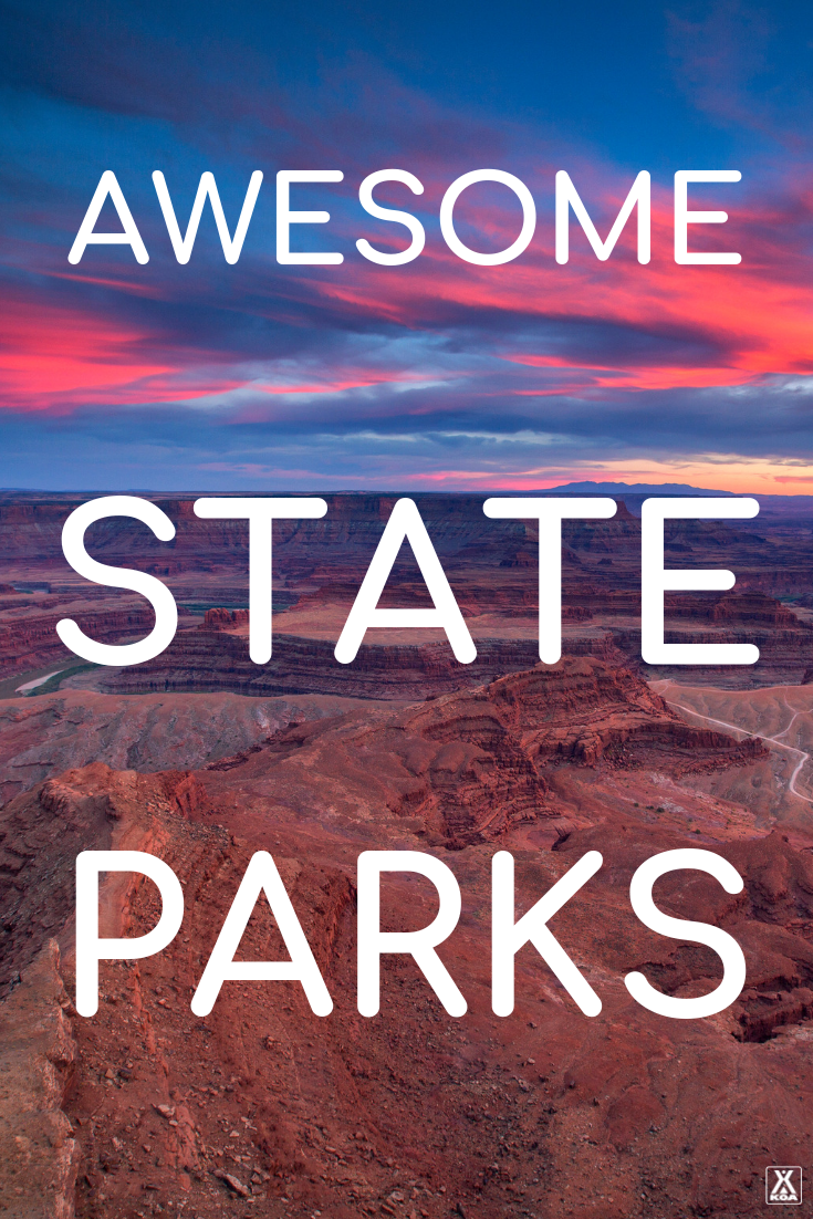 Visit these awesome state parks on your next road trip. #stateparks #findyourpark