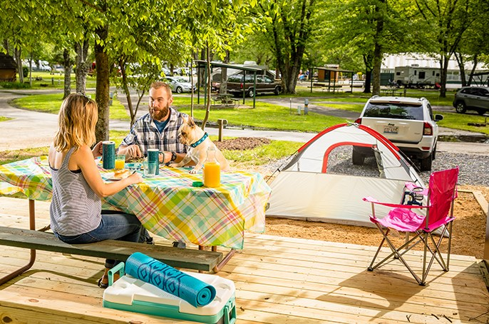 Tips for Staying Cool On Summer Camping Trips | KOA | KOA