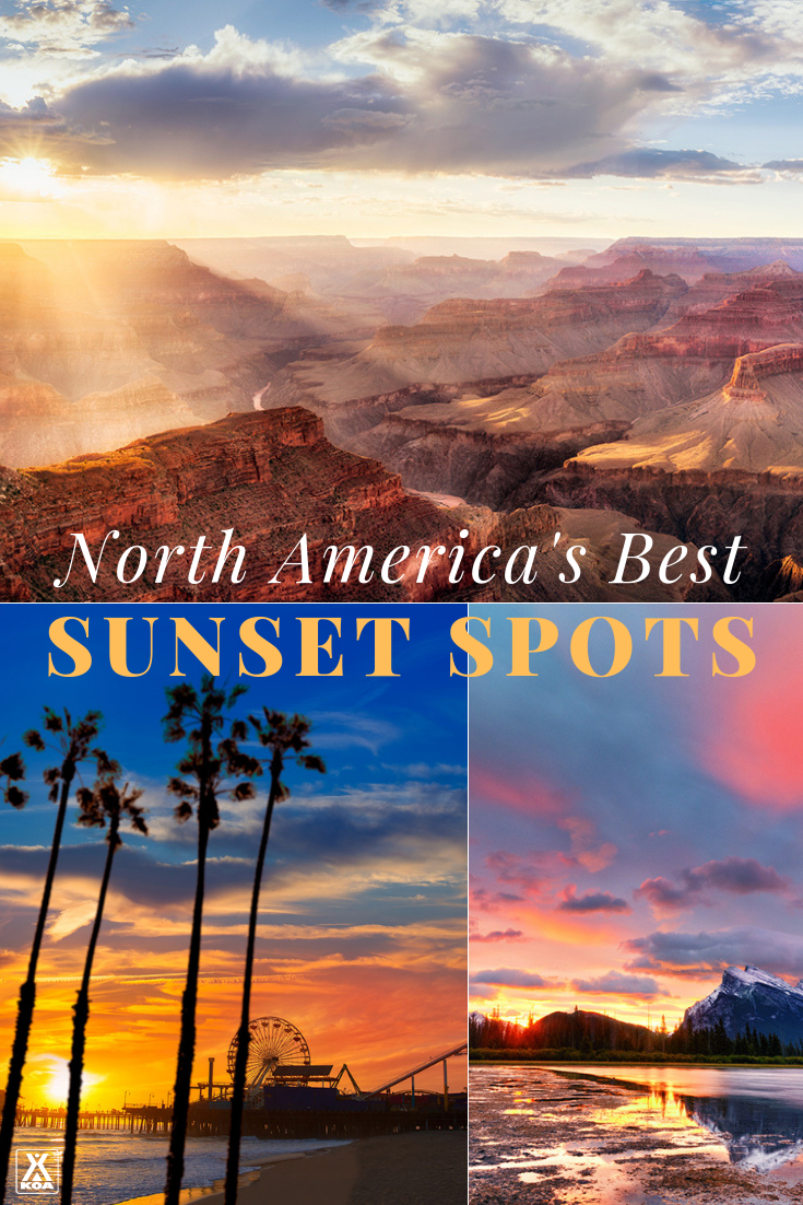 Watching a colorful sunset is one of life simple pleasures - if you know the best spots. Check out these amazing vistas to catch stunning sunsets. These are the seven best spots for sunset viewing in North America.