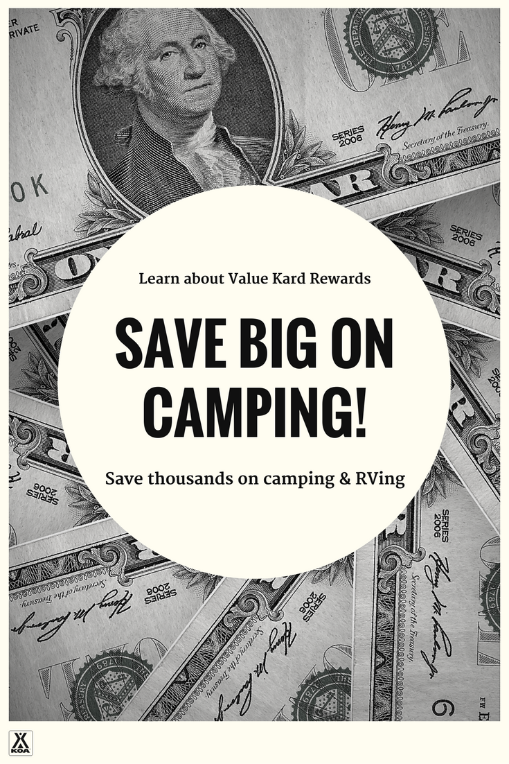 Save money on camping & RVing