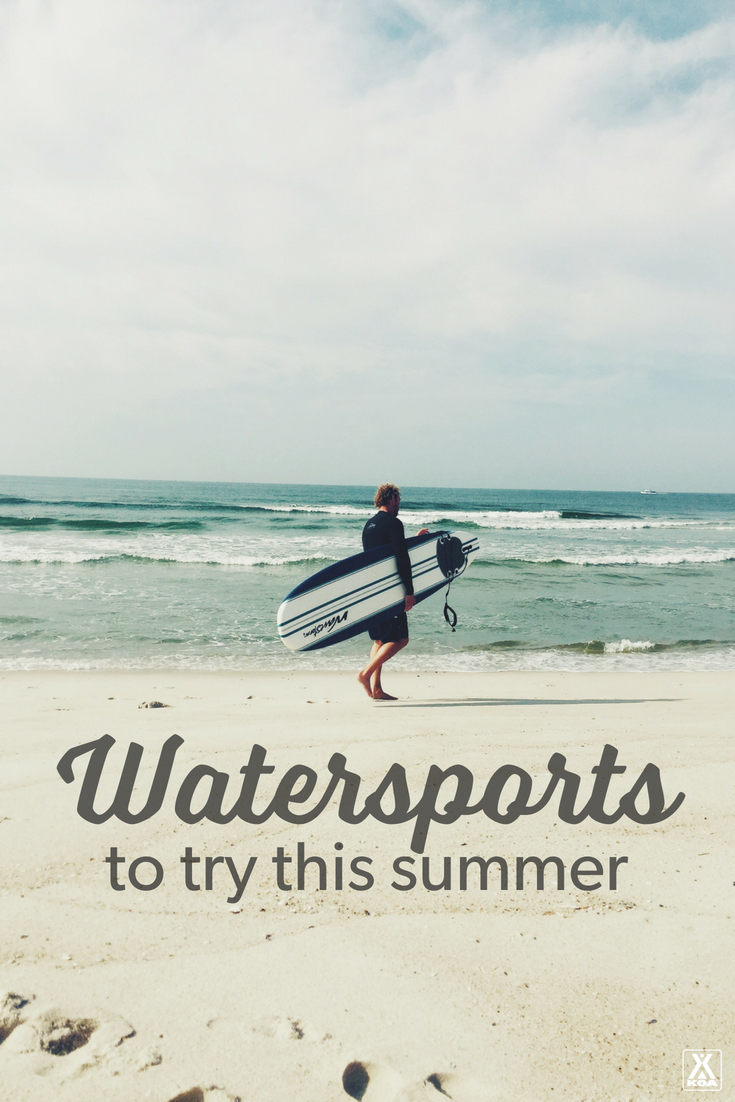 Try these fun watersports.