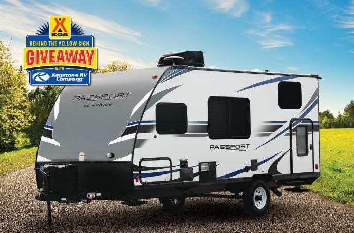 Enter Now to Win a New Keystone RV | KOA Camping Blog