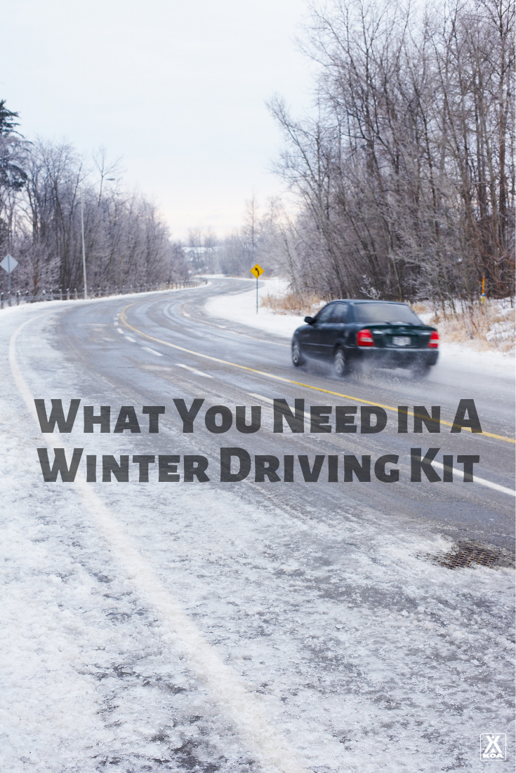 These must-have items are critical for a winter driving kit. Be prepared for anything! #winterdriving #driving