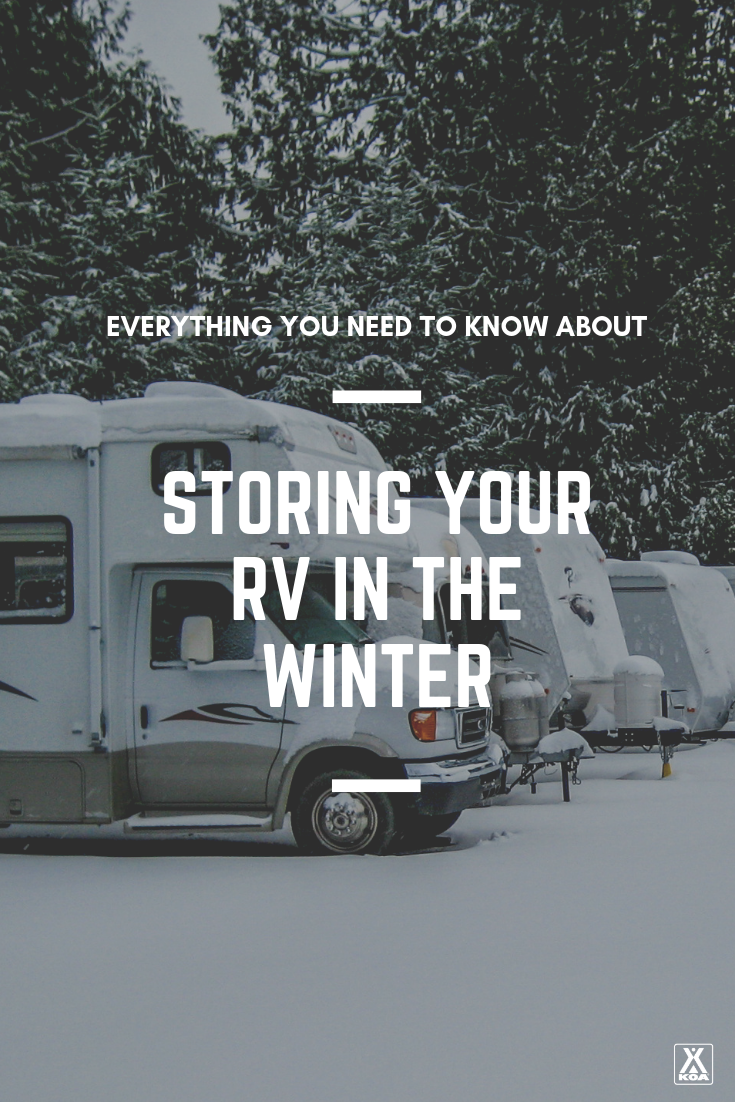 Everything you need to know about storing your RV.