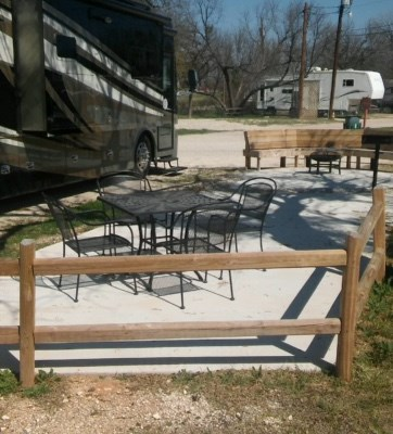 Deluxe Patio site