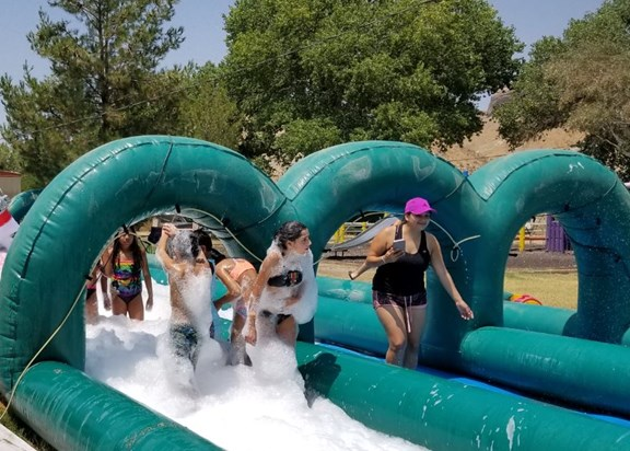 Summer Slip-N-Slide