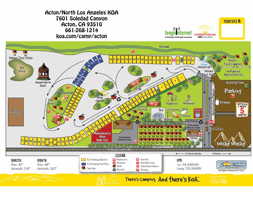 Acton California Tent Camping Sites Acton Los Angeles