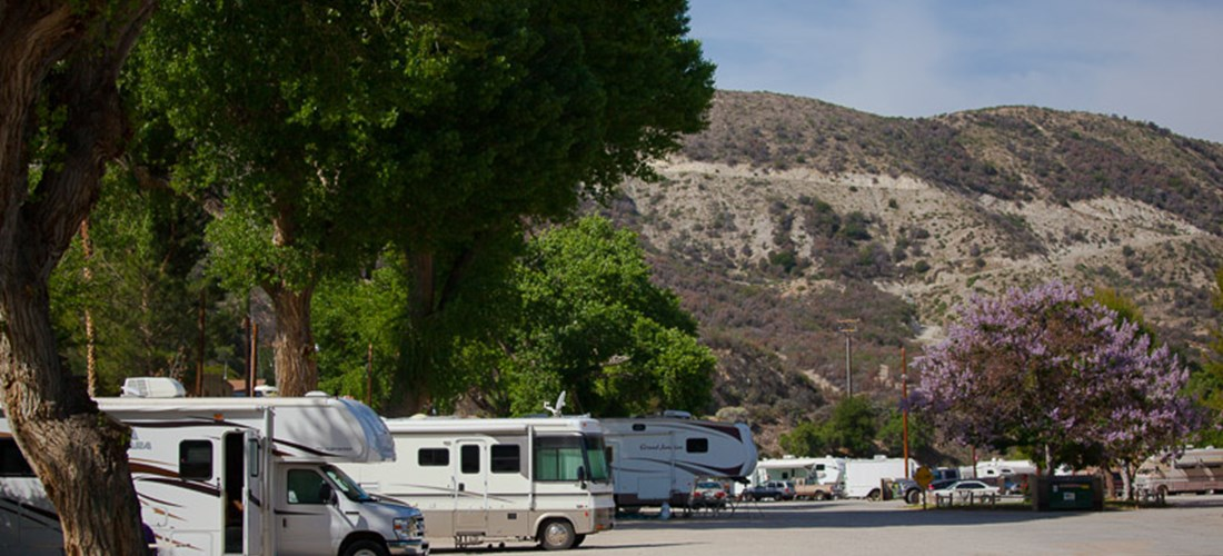 Full Hook up Back In RV Sites