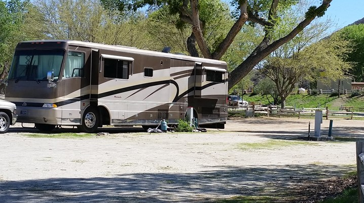 Our Pull-Thru RV Sites accommodate any length