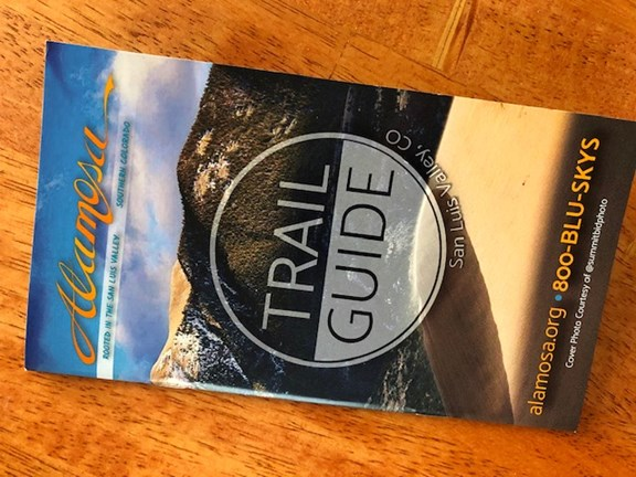 Alamosa Area Trail Guide Available!