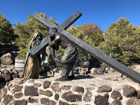 San Luis and The Stations of the Cross