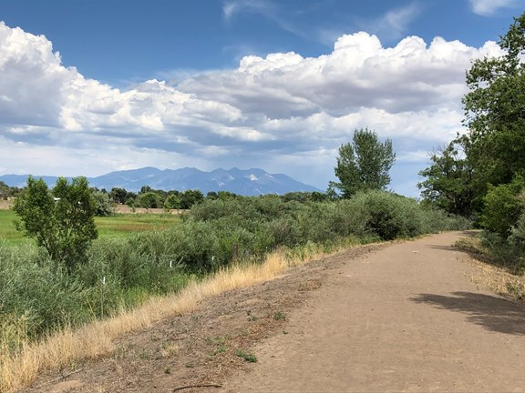 City of Alamosa Trails Near Downtown