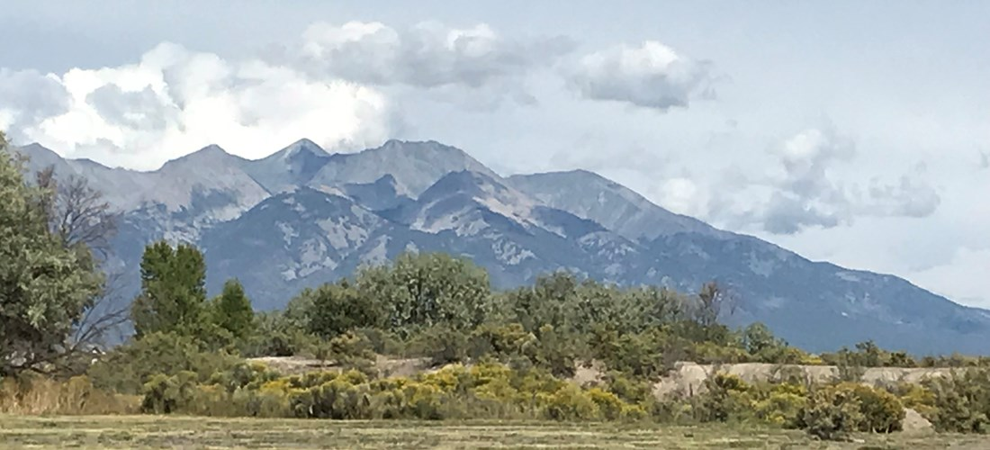 Mount Blanca view sites
