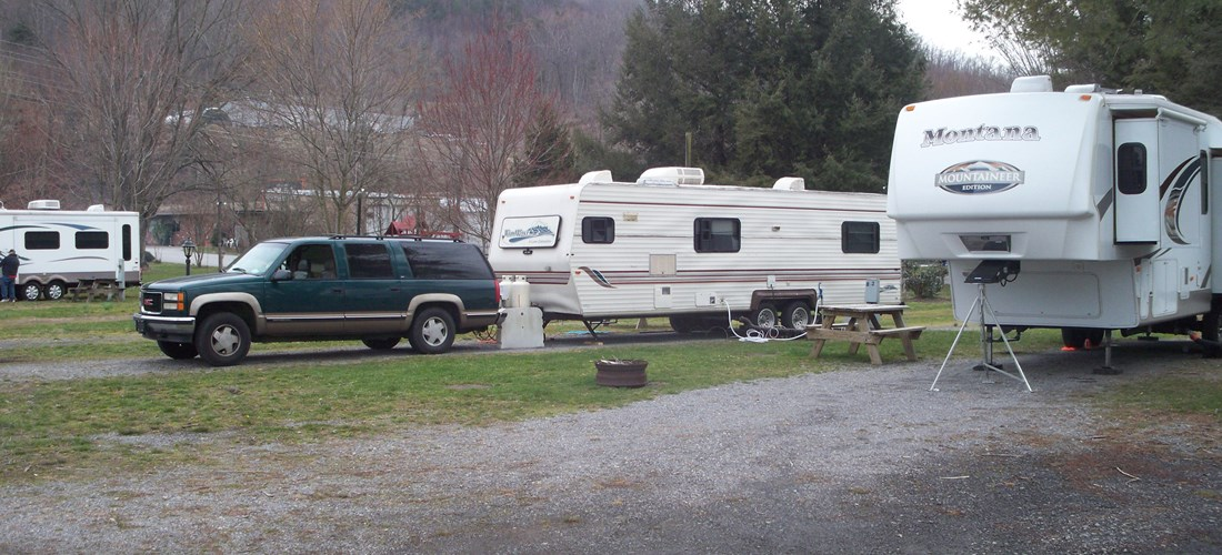 RV Pull-Thru Sites