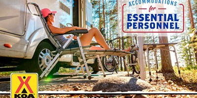RV Campsites for Essential Personnel / Travelers