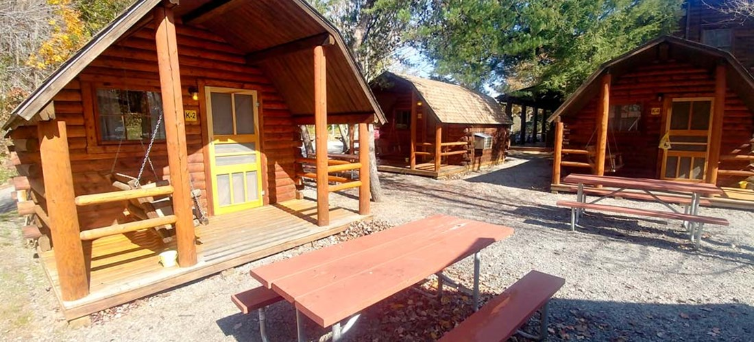our cabin - Picture of Asheville West KOA, Candler