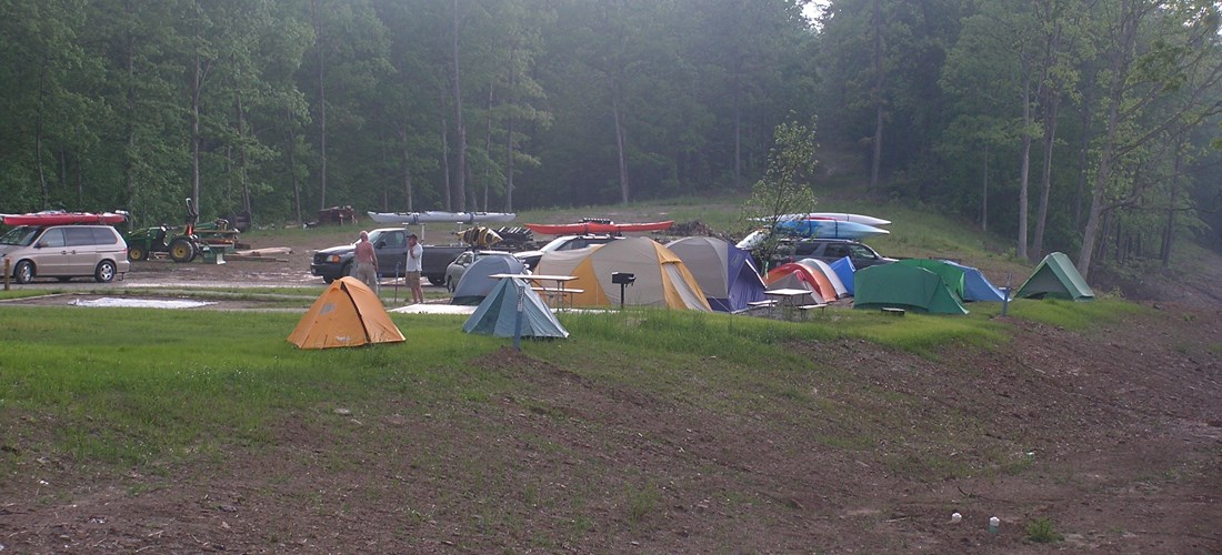 First opening Water/Electric tent sites