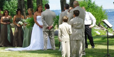 Romantic Weddings and Receptions At Association Island