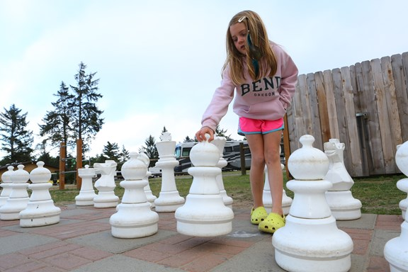 Giant Chess and Checkers!