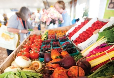 San Luis Obispo Farmer's Market Thursday Night and Saturday Morning