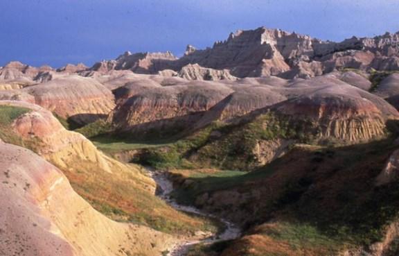 Interior South Dakota Campground Badlands White River Koa