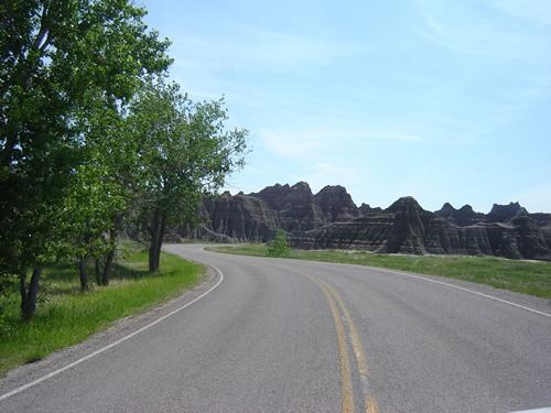 Scenic Drive to Wall and Wall Drug
