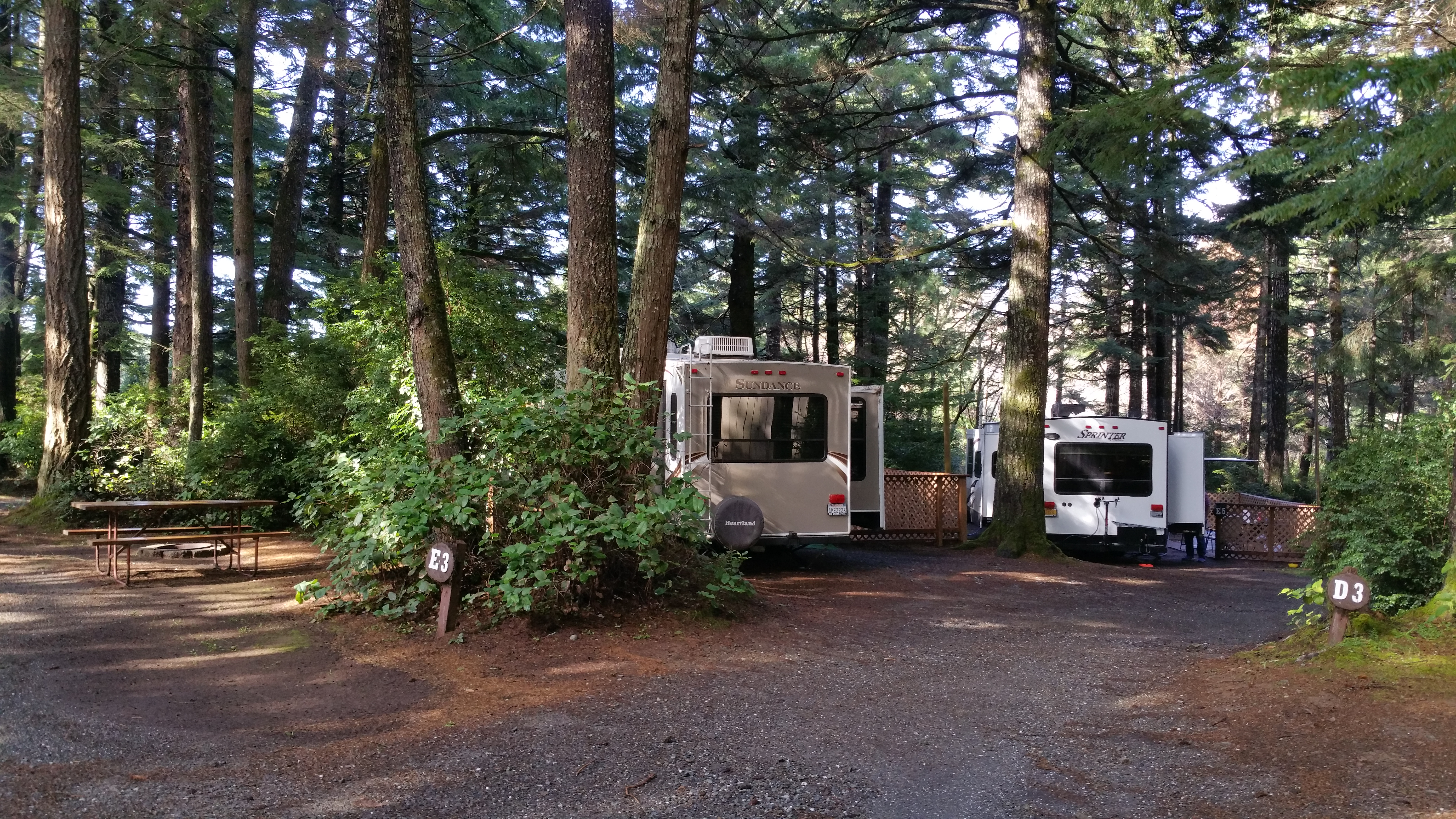 What does full hook up mean at an rv park