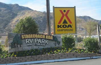 Banning Stagecoach KOA Photo