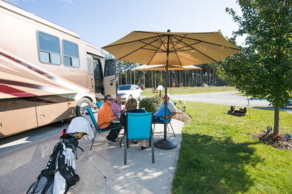 Just for Grown-Ups - Patio Sites in Cedarwood