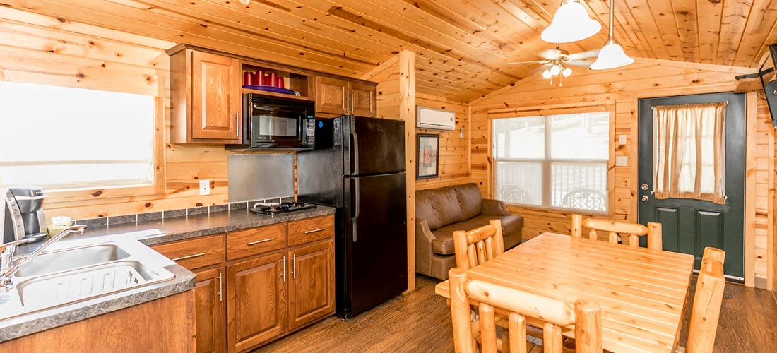Deluxe Cabin, Lodge, Full Kitchen.