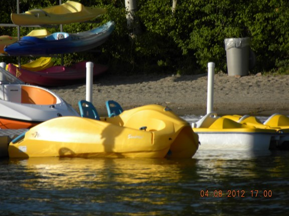 Renting of boats and bikes / Location kayaks, etc.