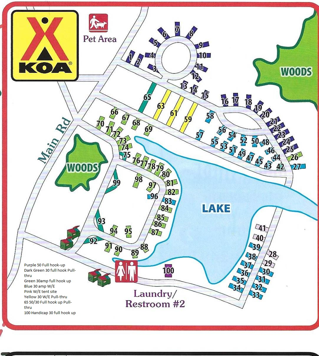 Koa Campgrounds Map Batesville, Indiana Campground | Batesville KOA