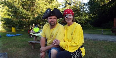 Pirate/shipwrecked weekend