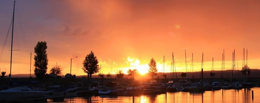 Bear Lake Marina at Sunrise