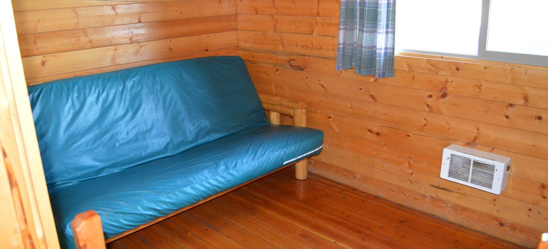 Futon in second room
