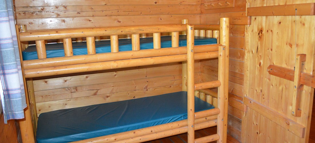 Bunk bed in second room
