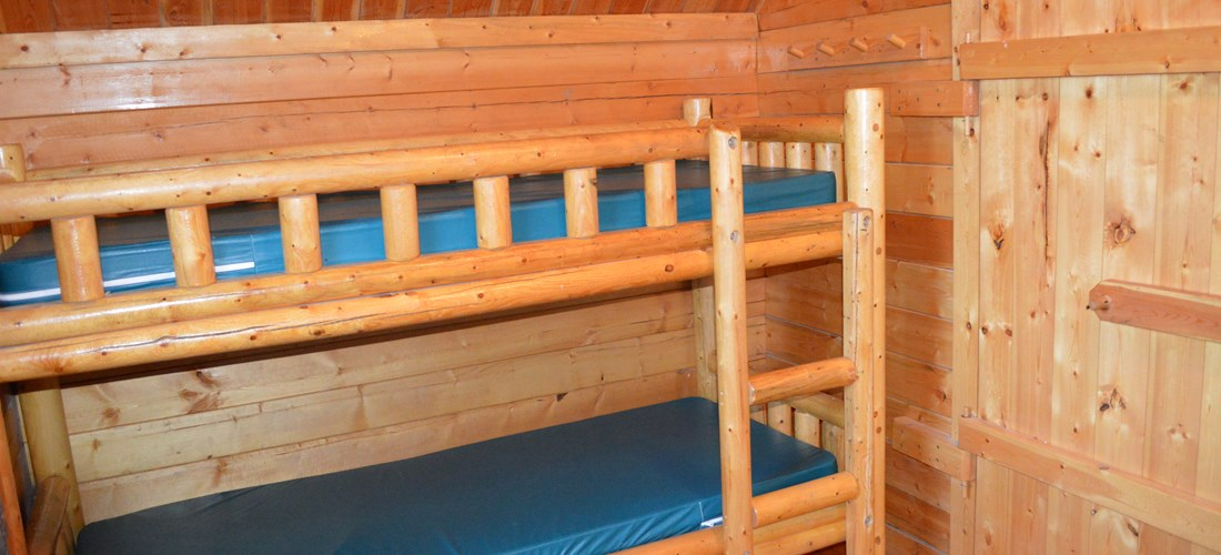 2nd set of bunk beds in second room
