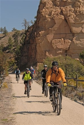 Biking in the Black Hills, SD