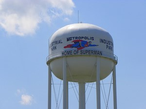 Metropolis, Illinois-Home of Superman