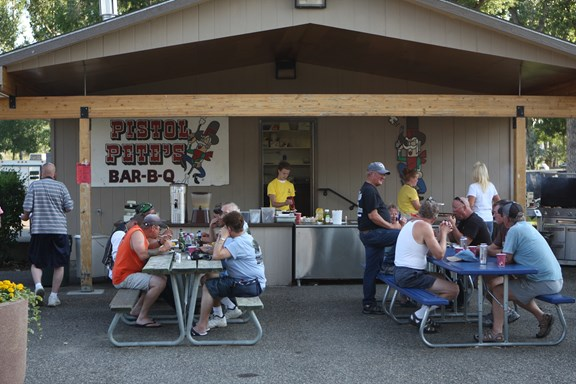 Pistol Pete's Pancake Breakfast & Evening BBQ