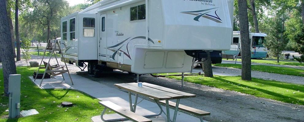 Billings Montana Rv Camping Sites Billings Koa